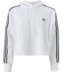 huvtröja cropped hoodie