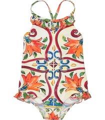 dolce & gabbana one-piece swimsuits