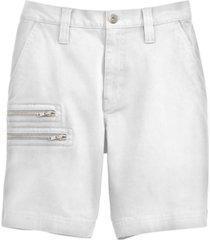 inc men's regular-fit zipper shorts, created for macy's