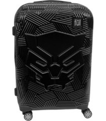"ful marvel black panther icon molded 29"" hardside spinner suitcase"