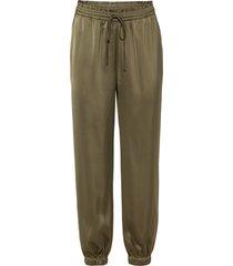 pantaloni di satin (verde) - bodyflirt