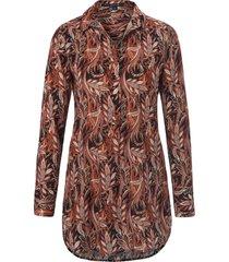 blouse 100% polyester van comma, multicolour
