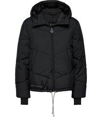 alba puffer jacket gevoerd jack zwart röhnisch