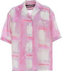 jacquemus la chemise vallena shirt w/foulard