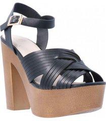 sandalia ariella verano negro we love shoes