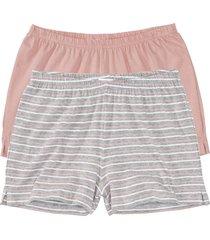pantaloni pigiama corti (pacco da 2) () - bpc bonprix collection