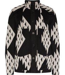 kiko kostadinov tulcea hunting jacket - black