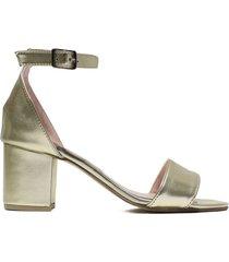 sandalia   platino felmini mini grecia