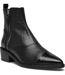 booties a1400 shoes boots ankle boots ankle boot - flat svart billi bi