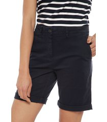 bermuda tommy hilfiger azul - calce regular
