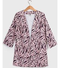 tapado ash tipo kimono multicolor - calce regular