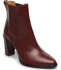 boots 7792 shoes boots ankle boots ankle boot - heel brun billi bi