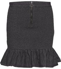 benicia kort kjol svart moves