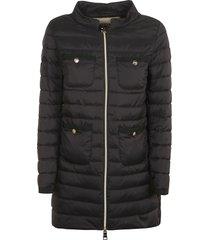 herno a shape 4 pocket padded jacket
