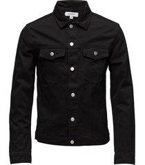 shelton denim jacket jeansjack denimjack zwart soulland