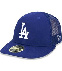 boné new era mlb los angeles dodgers 5950 team mesh