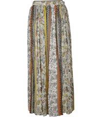 ermanno scervino floral print high-waist skirt