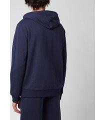 a.p.c. men's item hoodie - dark navy - xl