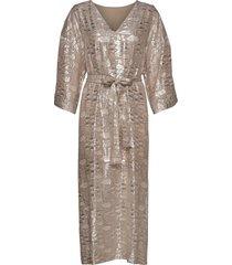 glamgz long dress hs20 jurk knielengte roze gestuz
