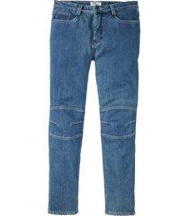 jeans elasticizzati termici regular fit straight (blu) - john baner jeanswear