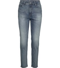 3301 high straight 90's ankle wmn skinny jeans blå g-star raw