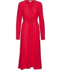 2nd tosca dresses wrap dresses röd 2ndday