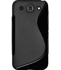 amzer tpu hybrid case for lg optimus g pro e980 - solid black