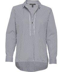 blouses woven långärmad skjorta multi/mönstrad esprit collection