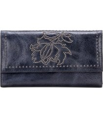 patricia nash studded distressed teresa leather wallet