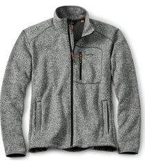 full-zip sweater fleece jacket