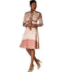 vestido abotoamento alphorria a. cult feminina