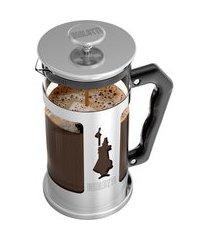 cafeteira french press preziosa 1 litro bialetti c/ cabo ergonômico