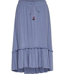 my beloved skirt knälång kjol blå odd molly