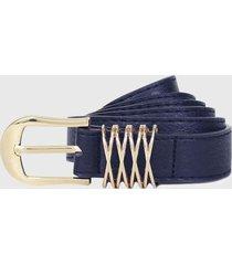 cinturon gema azul carven