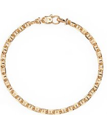 tom wood chain bracelet, size 7 in gold at nordstrom