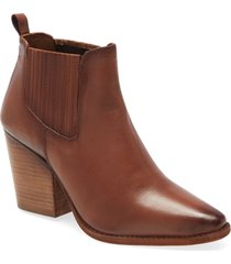 women's chinese laundry bloomington bootie, size 6.5 m - brown