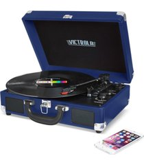 victrola solid suitcase bluetooth record player