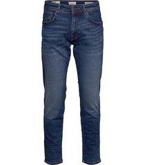 slhstraight-scott 6212 mb su-st jns noos jeans blå selected homme