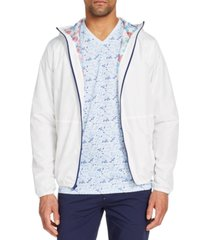 brooklyn brigade men's slim-fit water repellent stormy day windbreaker jacket