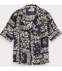 scotch & soda hawaiiblouse met print