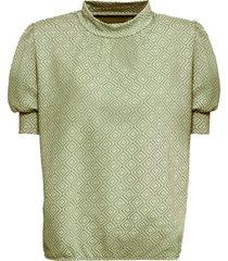 maglia effetto jacquard (verde) - bodyflirt