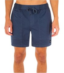 """hurley men's pigment dyed volley 17"""" shorts"""