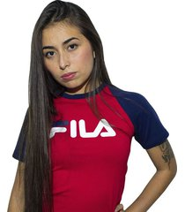 camiseta para mujer fila tshirt dm manga ranglan1