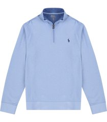 sweater austin blue polo ralph lauren media cremallera ppc
