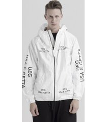 kurtka tyvek usa e getta zip-up