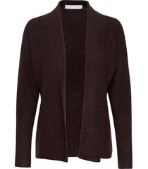 soft short shawl cardigan stickad tröja cardigan brun cathrine hammel