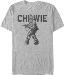 star wars men's classic chewbacca short sleeve t-shirt