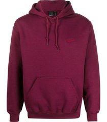 blood brother wayward long sleeve hoodie - red