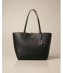 lauren ralph lauren tote bags lauren ralph lauren reversible bag in textured synthetic leather