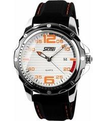 relógio skmei analógico 0992 lr
